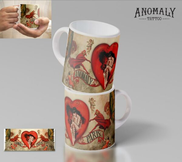 Mug love in the air