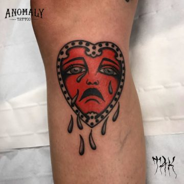 Tatouage style old school – Anomaly Paris