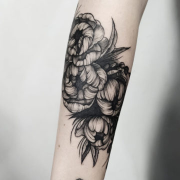 Tatouage floral, Anomaly Paris